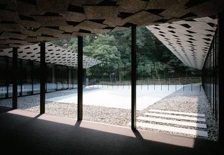 Museum of Kanayama Castle Ruin: Kengo Kuma