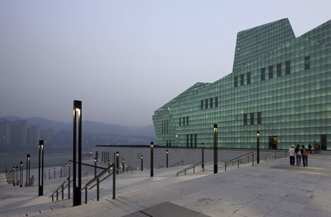 Gmp and the Grand Theatre, landmarks for Chongqing