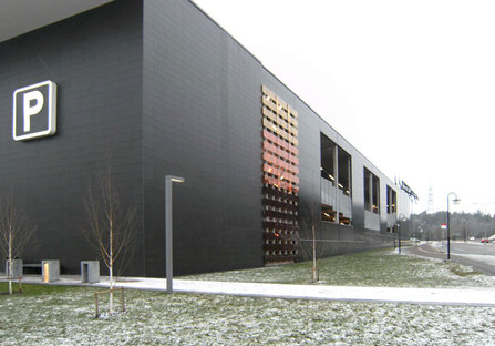 Bo:X, a city portal with a ventilated façade