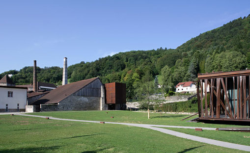 Restoration of the salt works in Salins-les-Bains