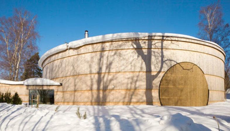 Olavi Koponen and the round home