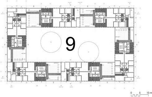 Layout of the top floor