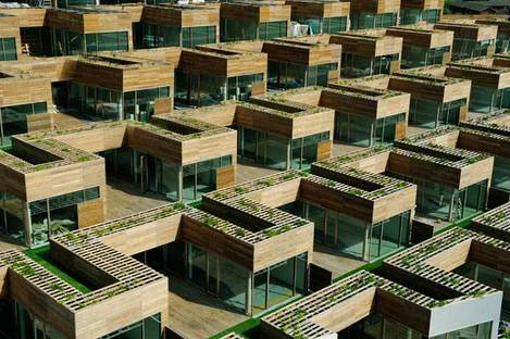 The grid of the residential units Ph. Jakob Boserup