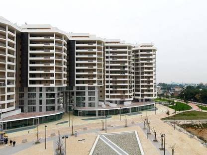 View of the apartments
