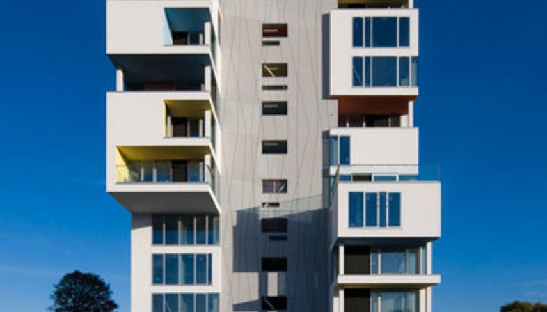 C. F. Møller: conversion of a silo into a home