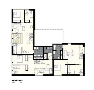 Plan of the 1st floor