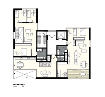 Plan of the 4th floor