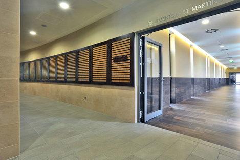 Pietra di Borgogna wall tiles - Pietra piasentina structured flooring