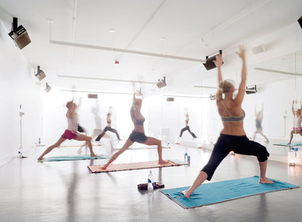 The second yoga room