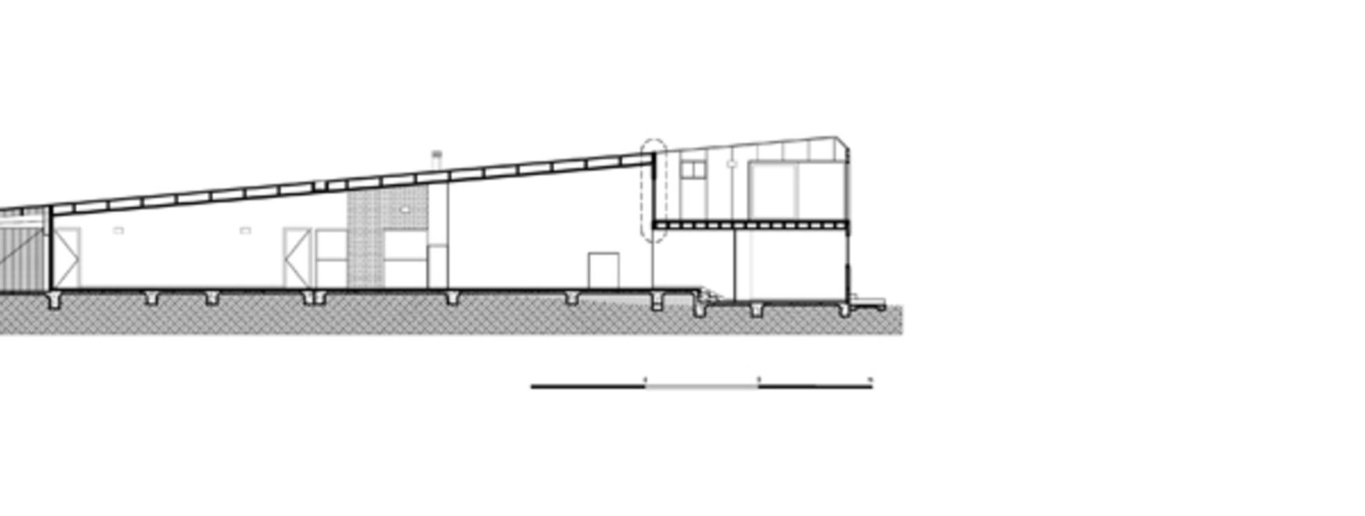 Mcbride Charles Ryan Letterbox House Floornature - Letterbox-house-in-blairgowrie-australia