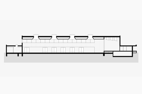 Longitudinal cross section
