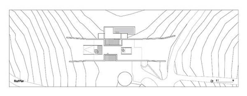 Plan of the roof