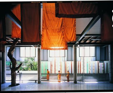 A museum of Buddhist temples in Thailand