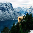 Tourism routes in Norway: Aurland