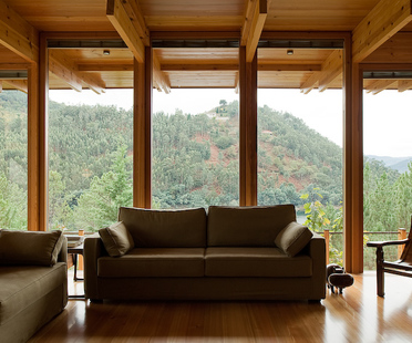 A wooden house in Gerês National Park