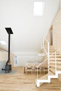 Yoshichika Takagi: wooden home in Sapporo