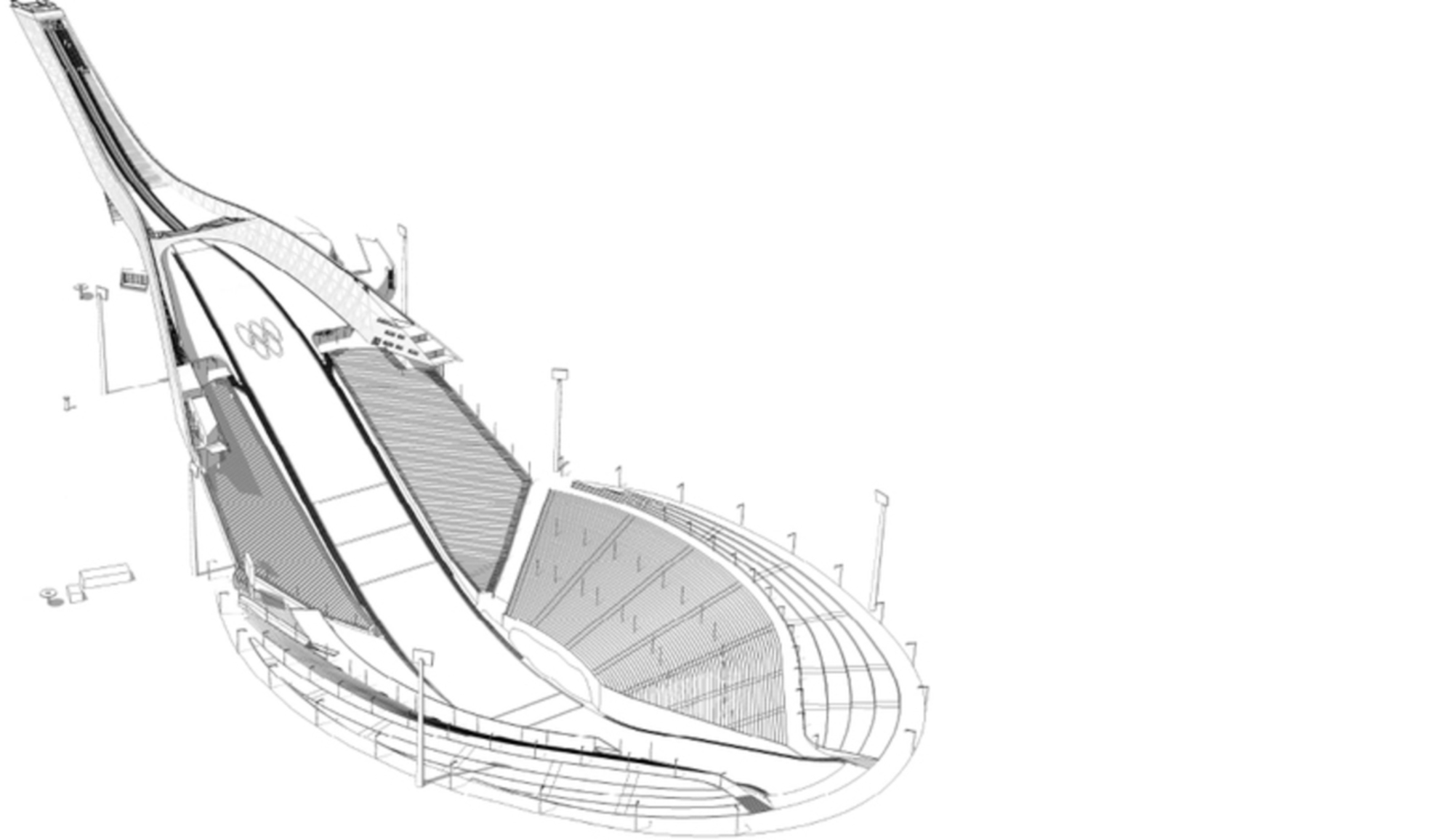 World Cup Nordic Oslo 2011: Ski Jump by JDS