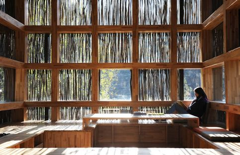 Li Xiaodong: library in the woods