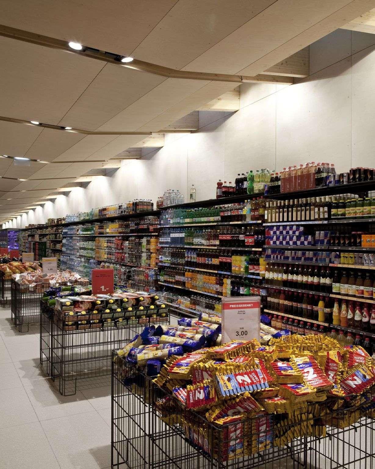 Fügenschuh: MPreis supermarket in Wiesing