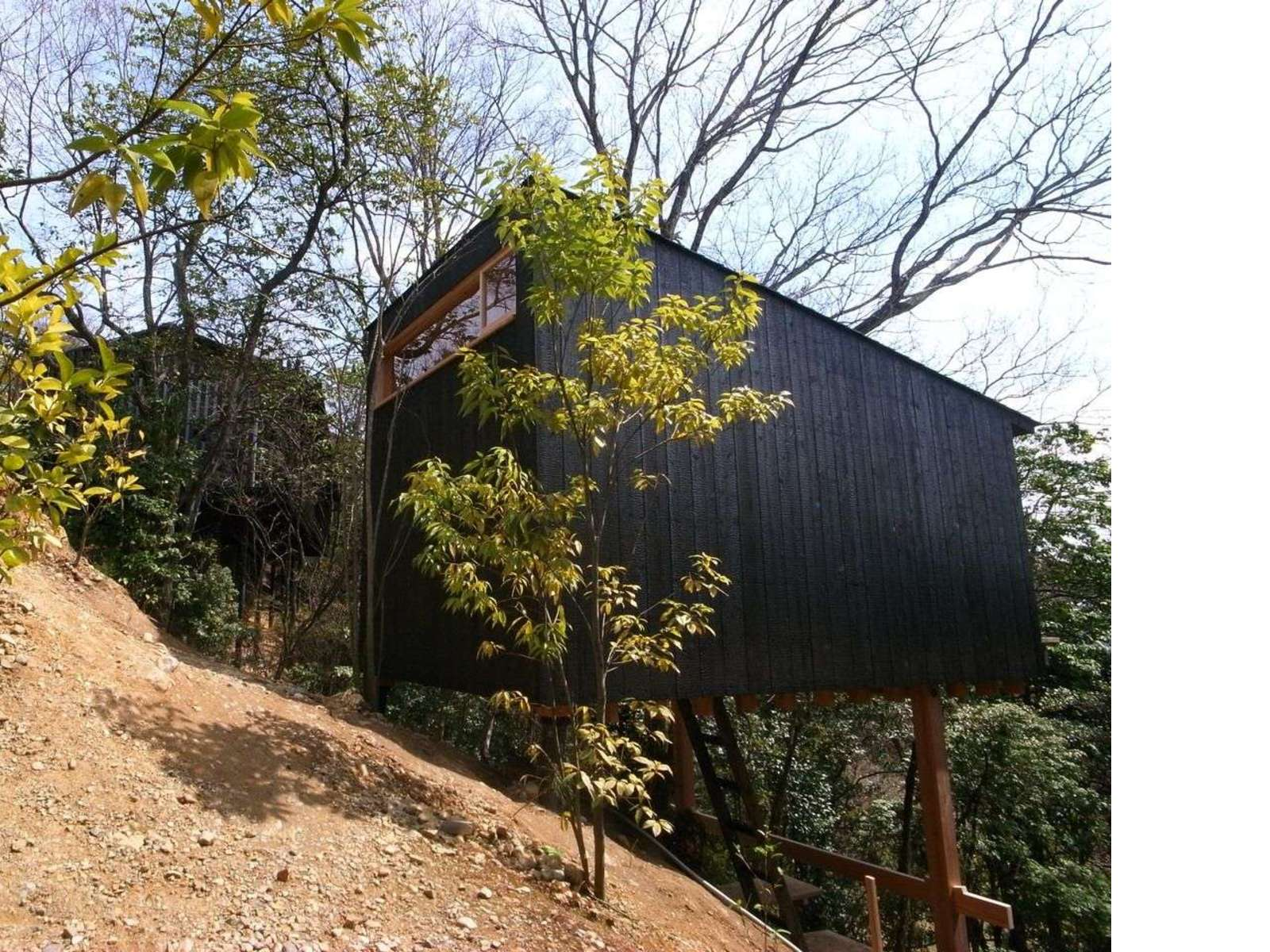 Koji Kakiuchi: A wooden shelter in Nara