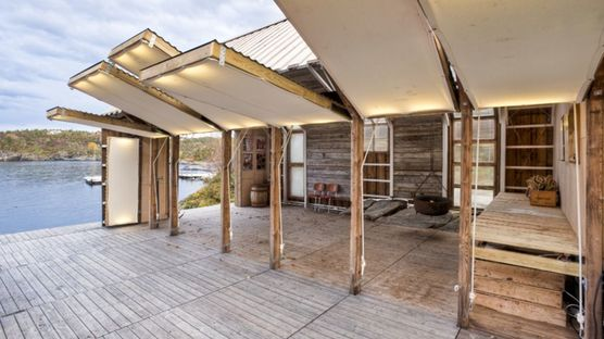 TYIN: boathouse facility in Norway