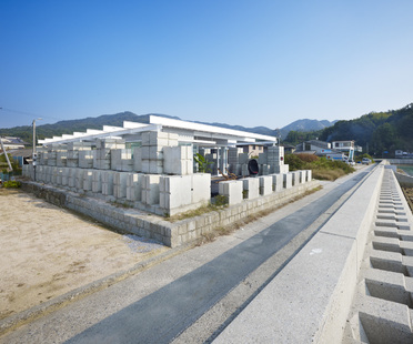 Naf architect: leftover concrete home