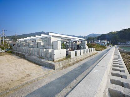 Naf architect: leftover concrete home