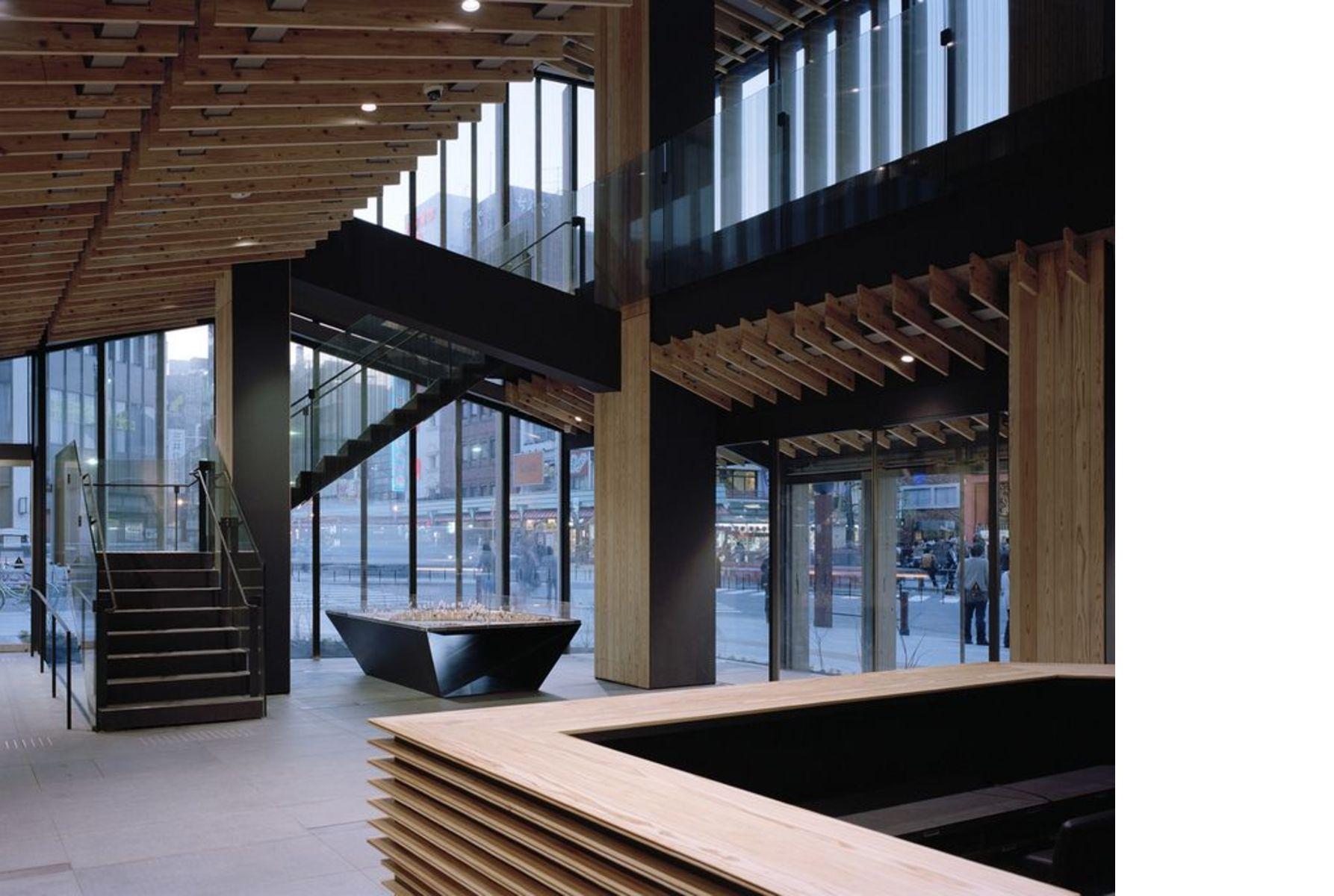 Kuma: Asakusa Culture Tourist Information Center | Floornature