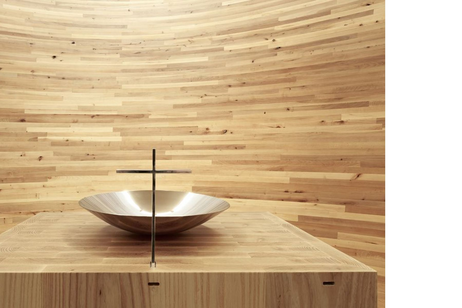 K2S Architects: Kamppi Chapel a Helsinki | Floornature