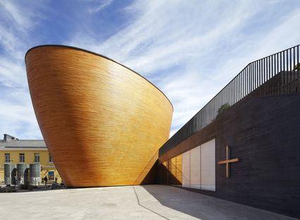 K2S Architects: Kamppi Chapel a Helsinki