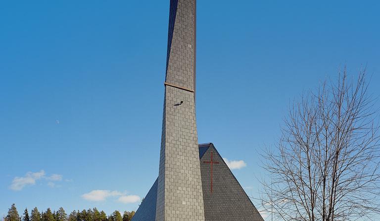 Lassila Hirvilammi: church in Jyväskylä