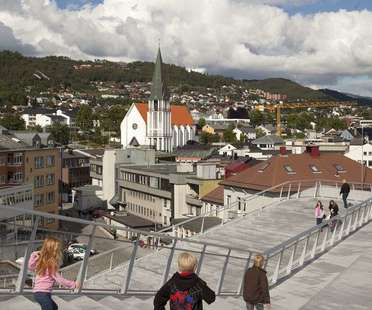 3XN architects: Plassen Cultural Center in Norway