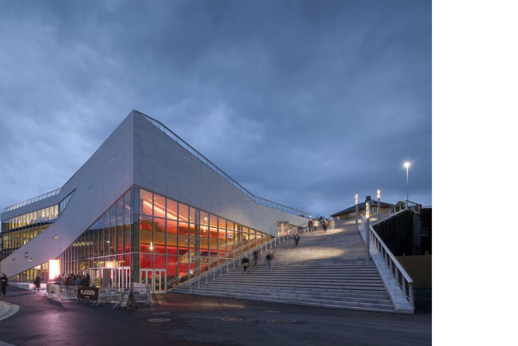 3XN architects: Plassen Cultural Center in Norway