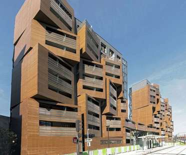 OFIS architects: Basket apartments in Paris