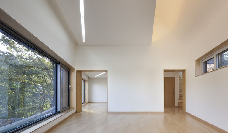 Joho Architecture: house with curved roof in Korea | Floornature