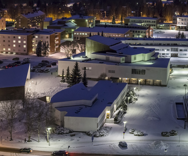 JKMM Architects: municipal library in Seinäjoki, Finland