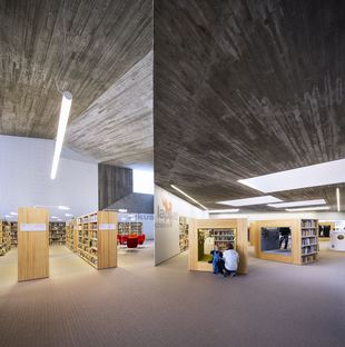 JKMM Architects: municipal library in Seinäjoki, Finland