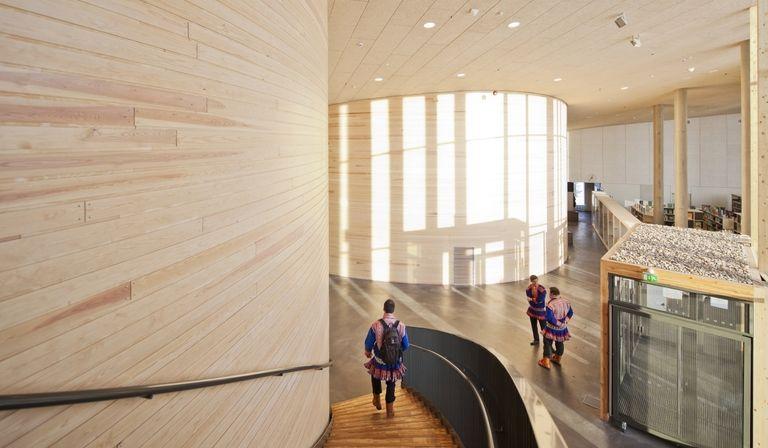 Halo Architects: Sami Cultural Centre in Inari (Finland)