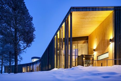 Halo Architects: Sami Cultural Centre in Inari (Finland)