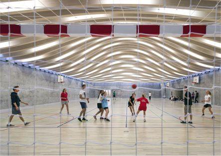 BIG (Bjarke Ingles): Gammel Hellerup Gymnasium in Denmark