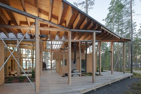 Koponen: house on Lake Saimaa in Finland