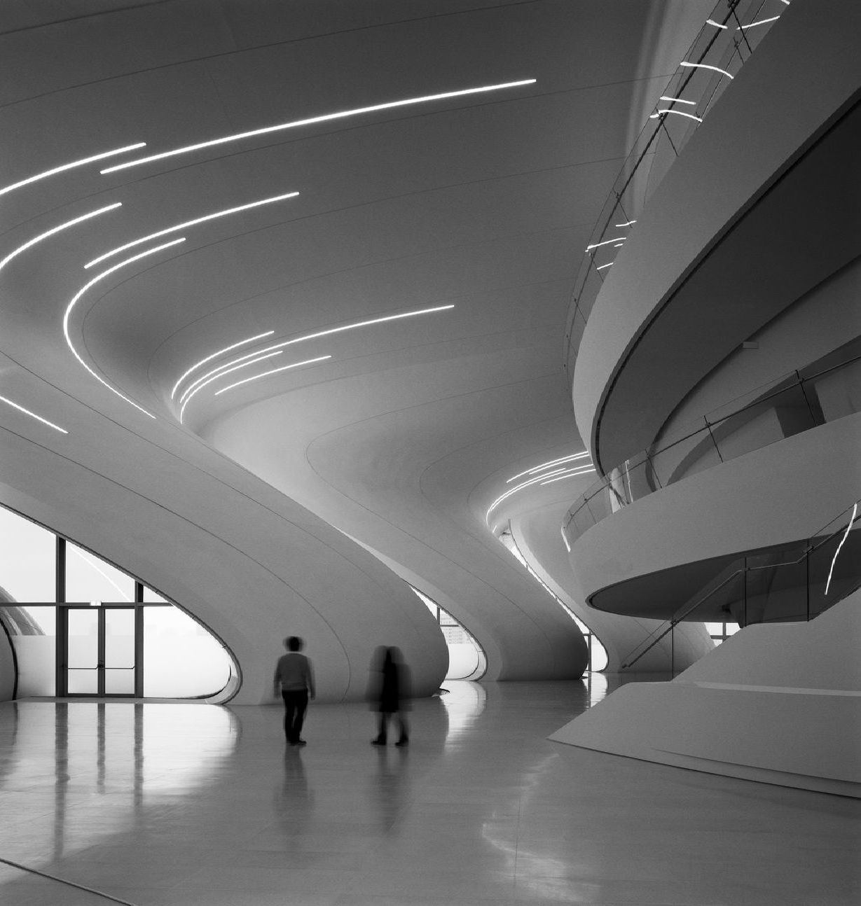 Zaha Hadid Heydar Aliyev Center In Baku Floornature