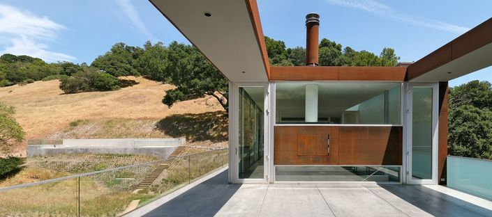 Saitowitz: bridge home in California