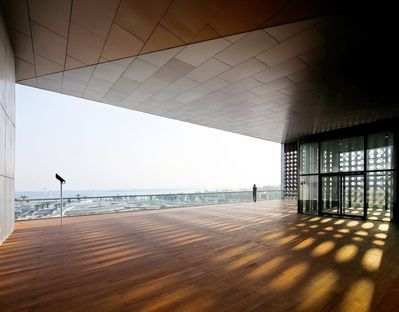 Vector Architects: Vanke Group exhibition centre in Bayuquan