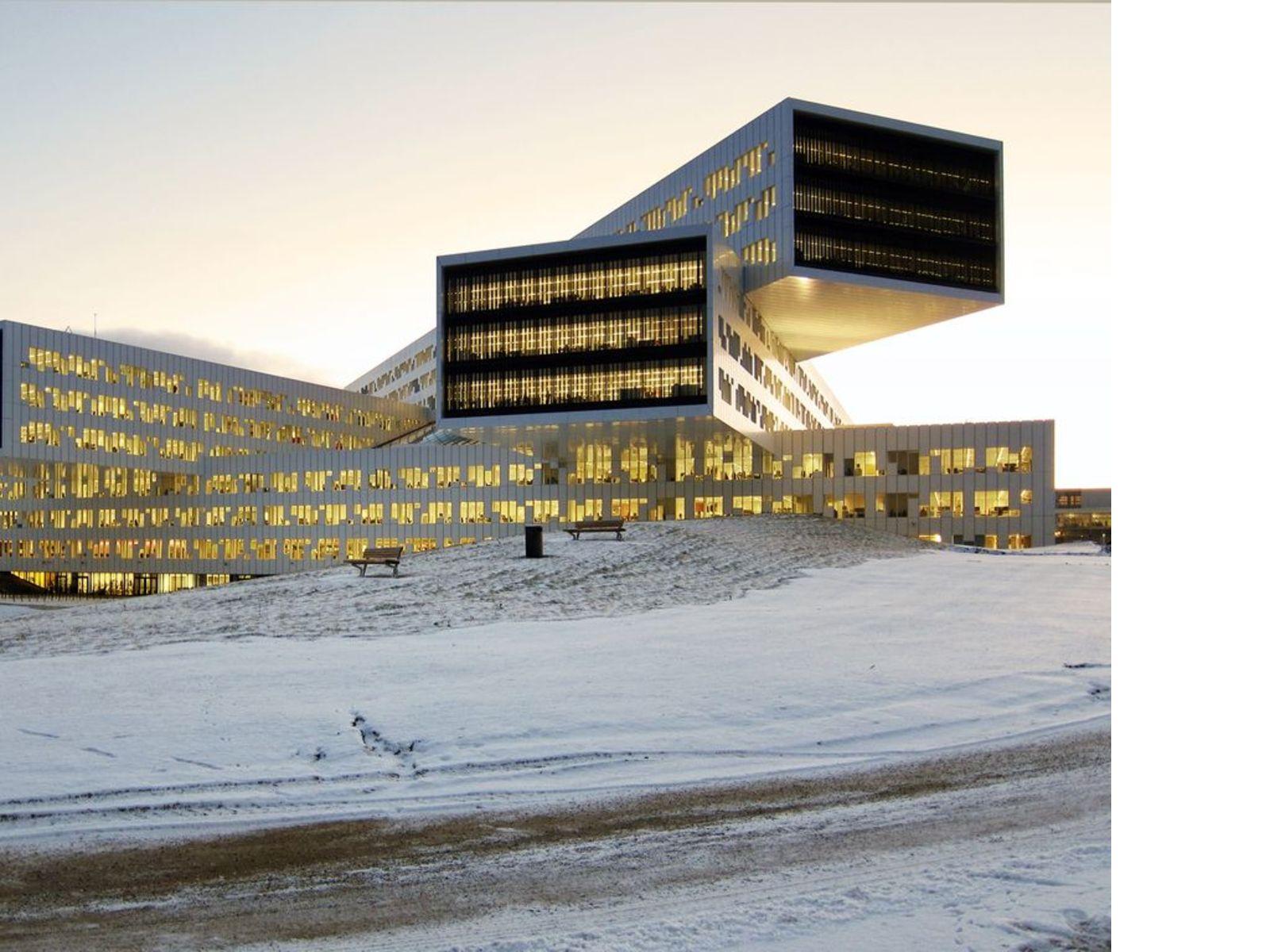 A-Lab Arkitekturlaboratoriet: Statoil regional and international offices