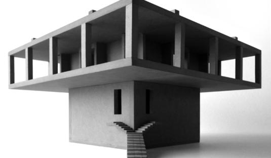 Pezo von Ellrichshausen: Solo house in Cretas, Spain