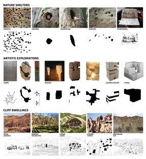 Romàn Cordero's cliff dwellings win a prize at Next Landmark 2014