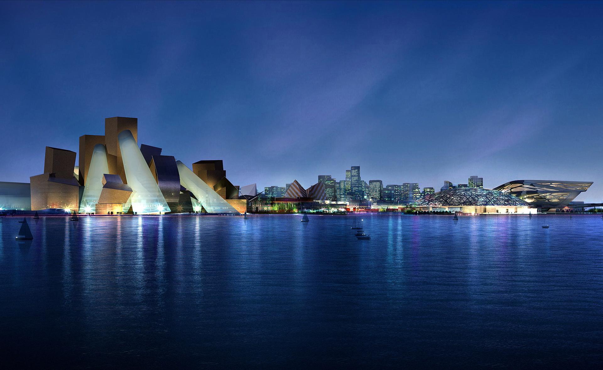 Abu Dhabi: stellar architecture and design
