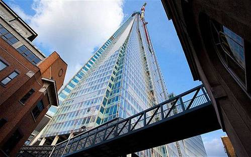 The Shard London Bridge, London, Renzo Piano