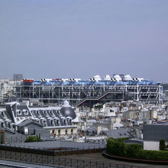 Paris, Centre Georges Pompidou, Renzo Piano